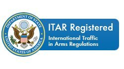 ITAR Registered - International Traffic in Arms Regulations