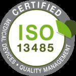 ISO 13485 certified logo